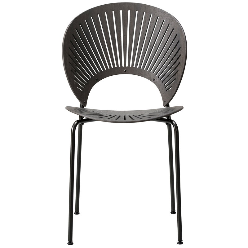 Fredericia Trinidad chair, grey stained and lacquered oak - flint
