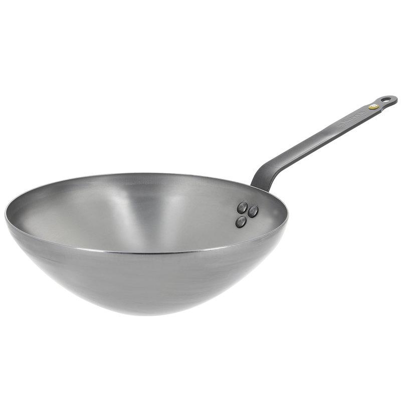 De Buyer Mineral B wok pan 28 cm