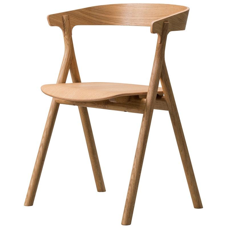 Fredericia Yksi tuoli, öljytty tammi