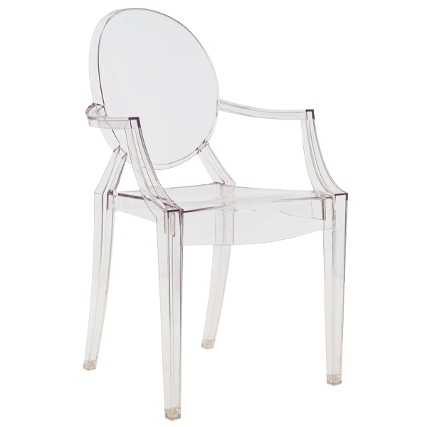 Kartell Sedia Louis Ghost, trasparente | Finnish Design Shop