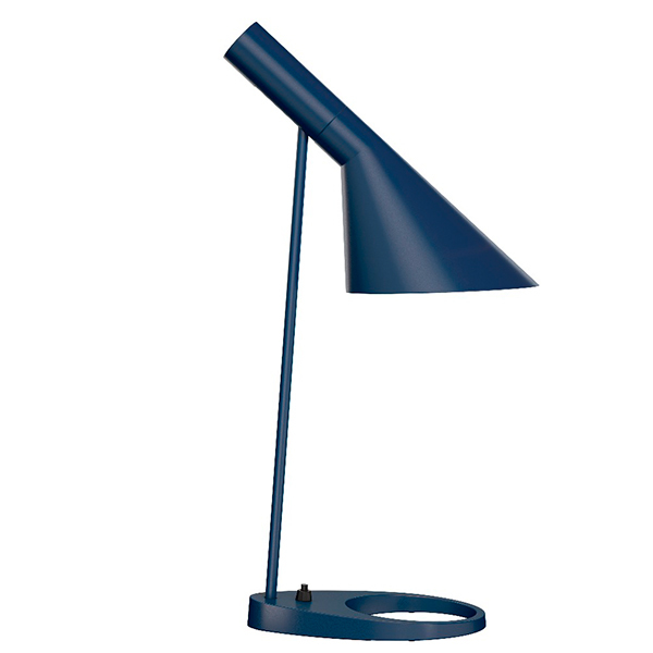 Louis Poulsen AJ table lamp, midnight blue