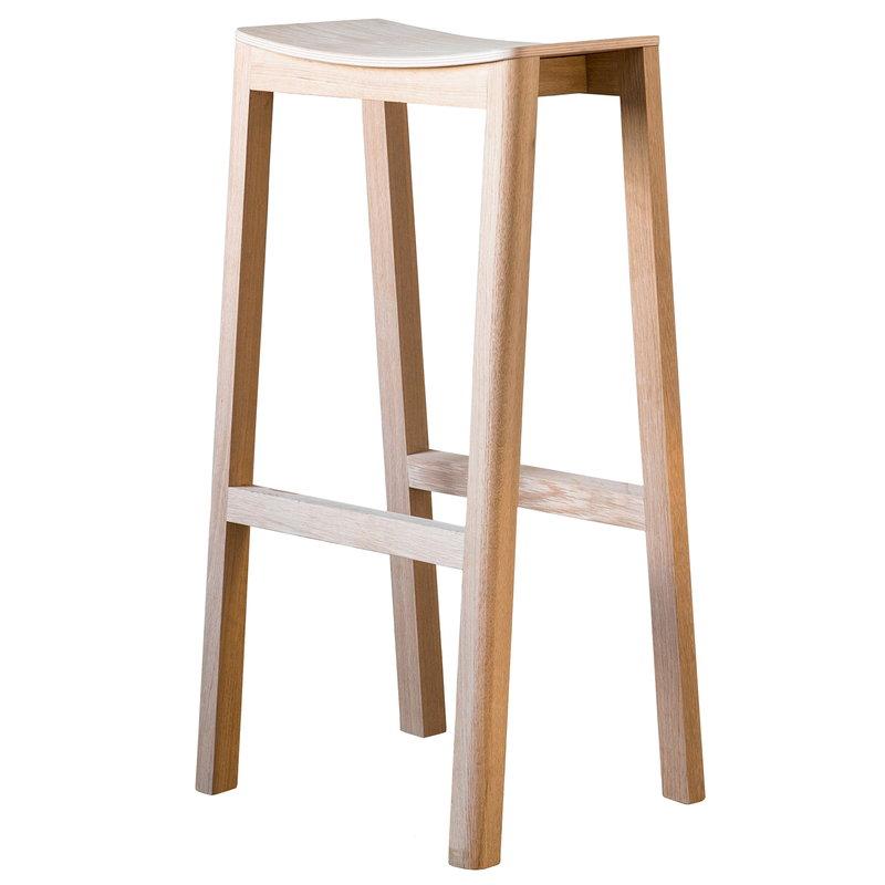 Made by Choice Halikko bar stool, 74 cm, oak