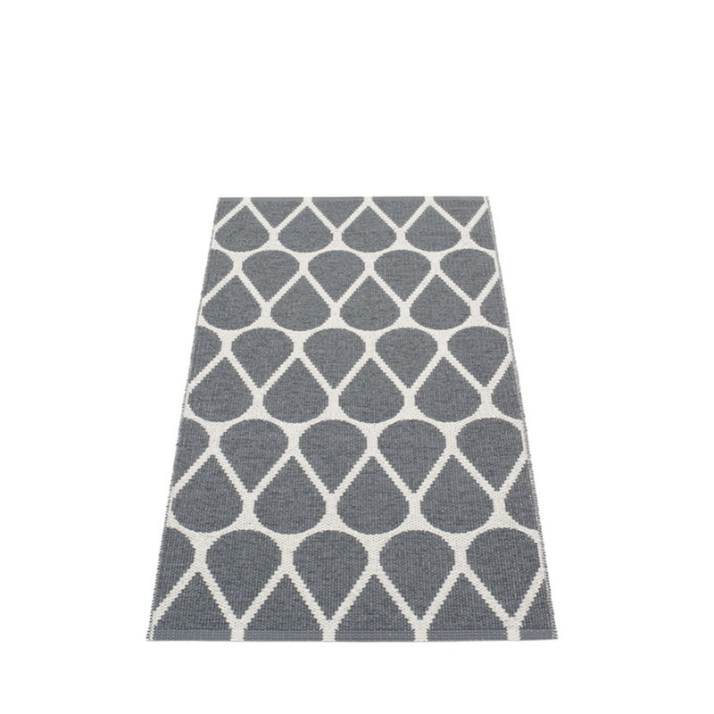 Pappelina Tappeto Otis 70 x 140 cm, granit / fossil grey