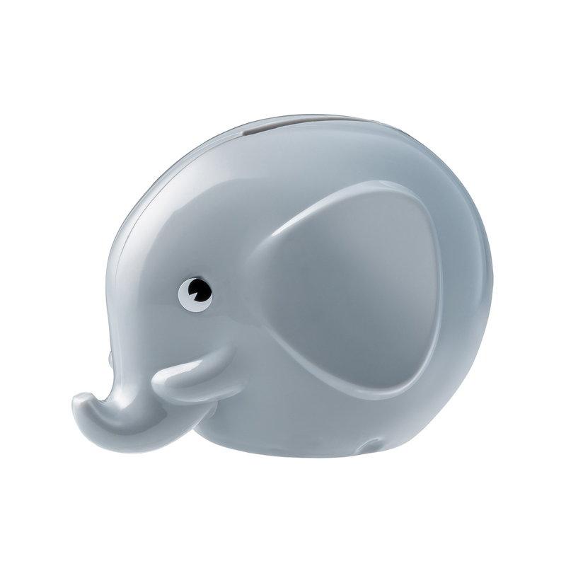Palaset Salvadanaio Medi Elephant, grigio