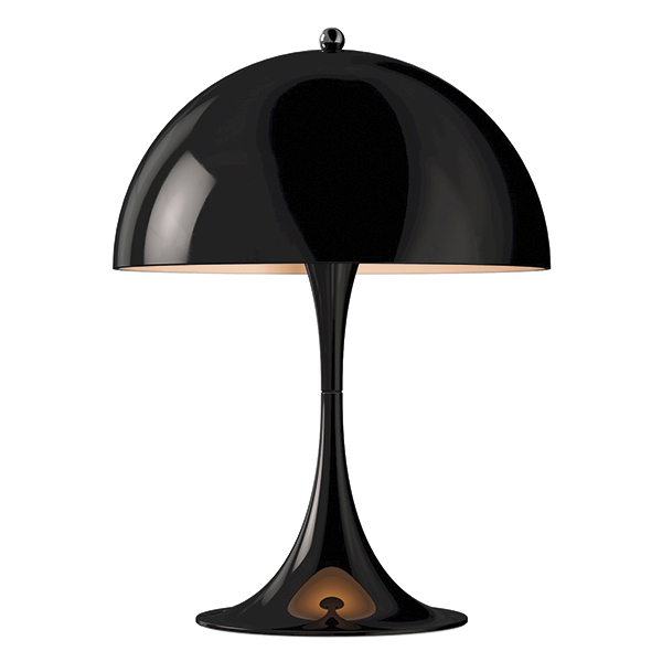 Panthella mini table lamp black