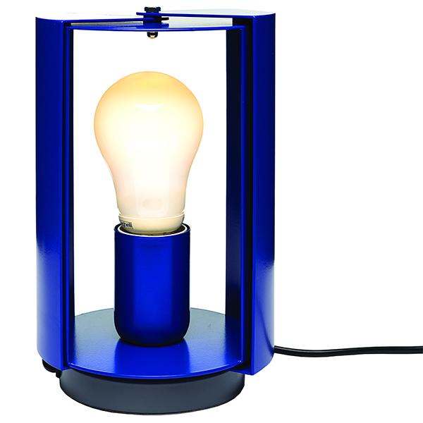 Nemo Lighting Pivotante à Poser pöytävalaisin, sininen