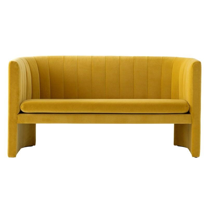 &Tradition Loafer SC25 sofa, Velvet 06 Dandelion