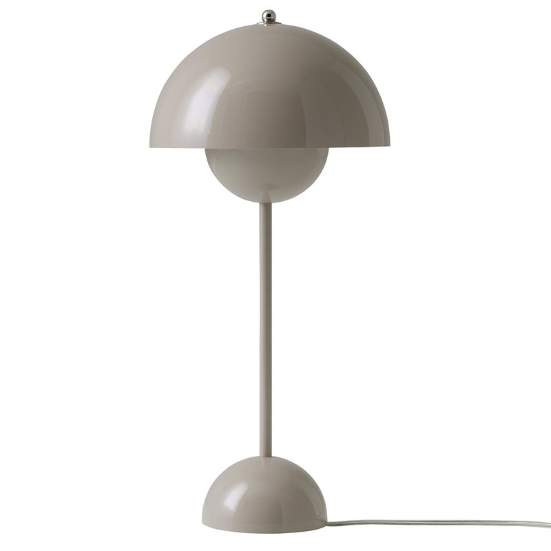 &Tradition Flowerpot VP3 table lamp, grey beige