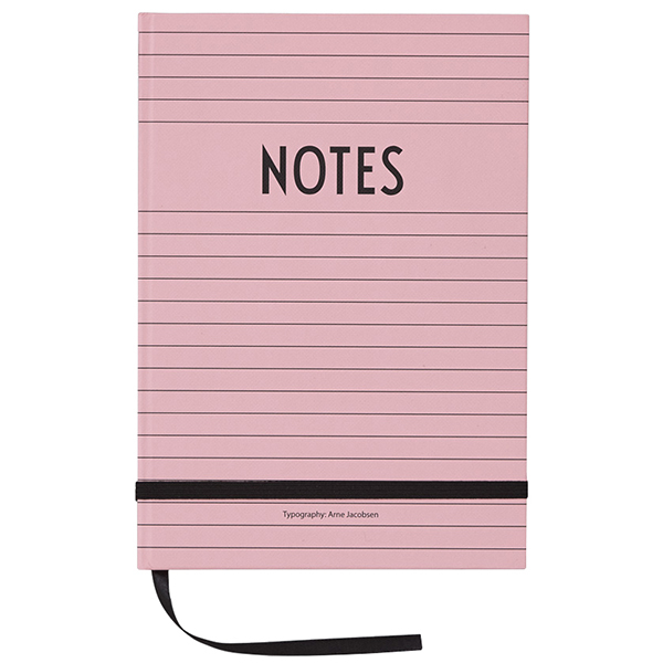 Design Letters Quaderno, rosa