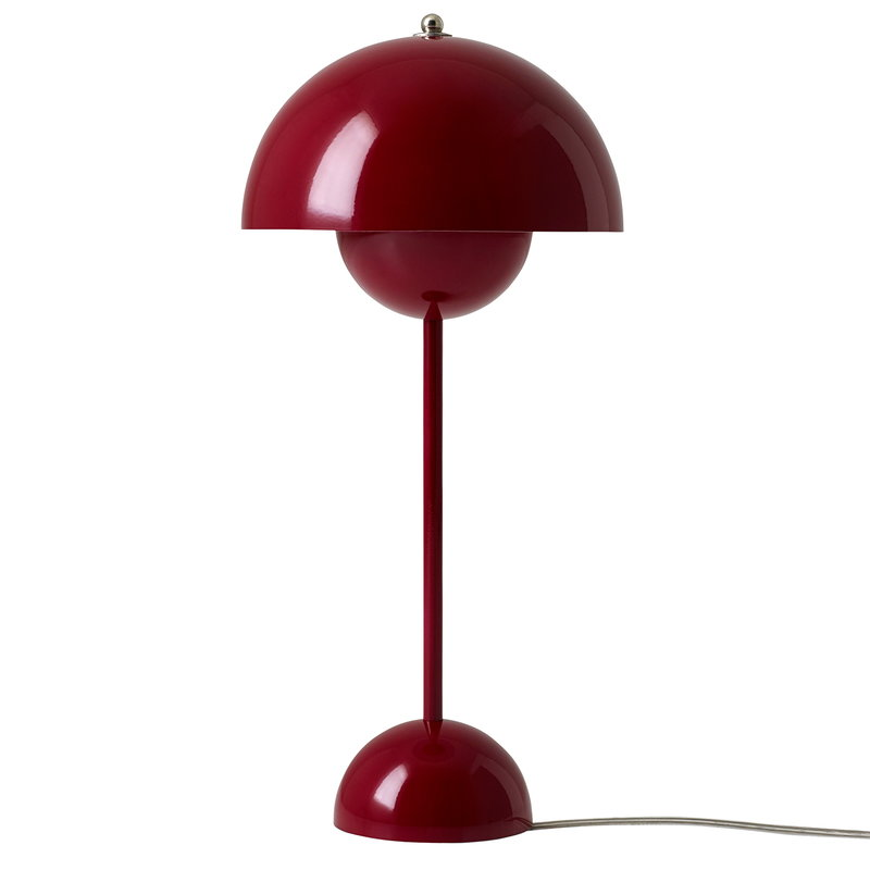 Tradition Flowerpot Vp3 Table Lamp Dark Red