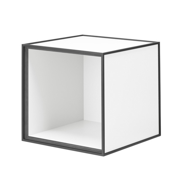 By Lassen Frame 28 box, white