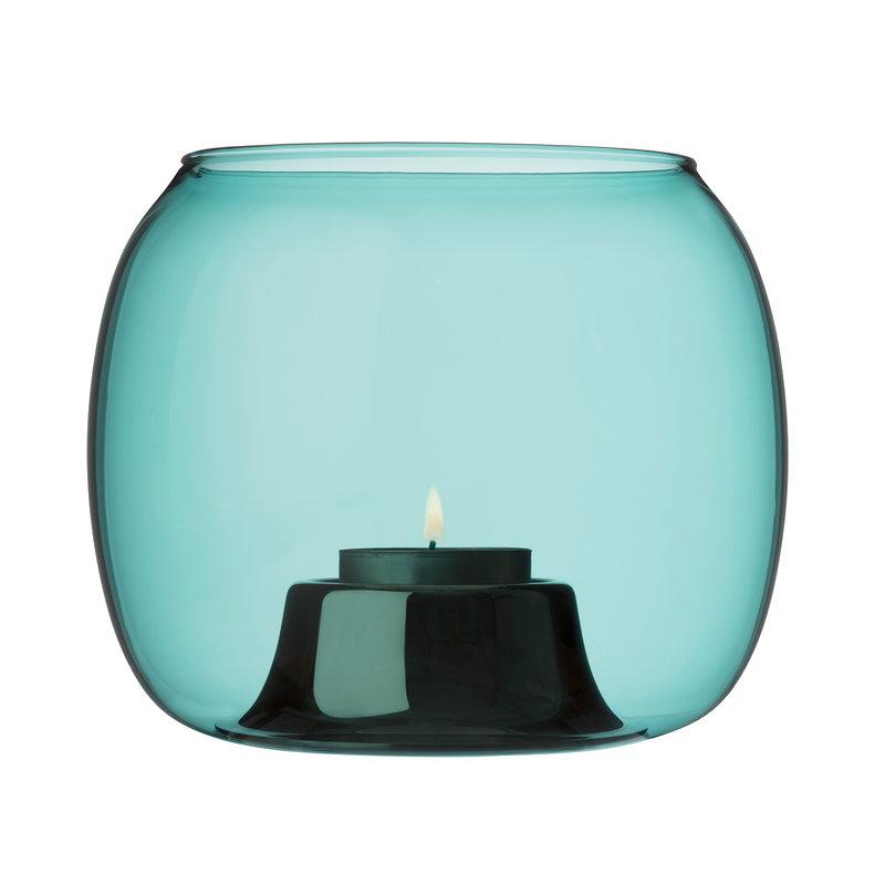 Iittala Kaasa tealight holder, sea blue