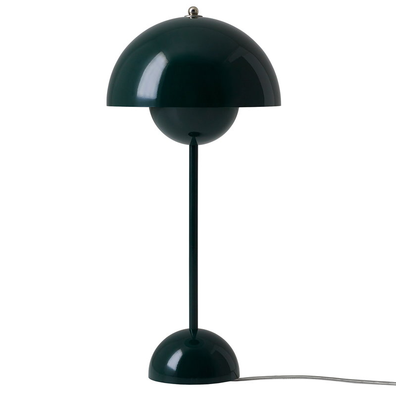 &Tradition Flowerpot VP3 table lamp, dark green
