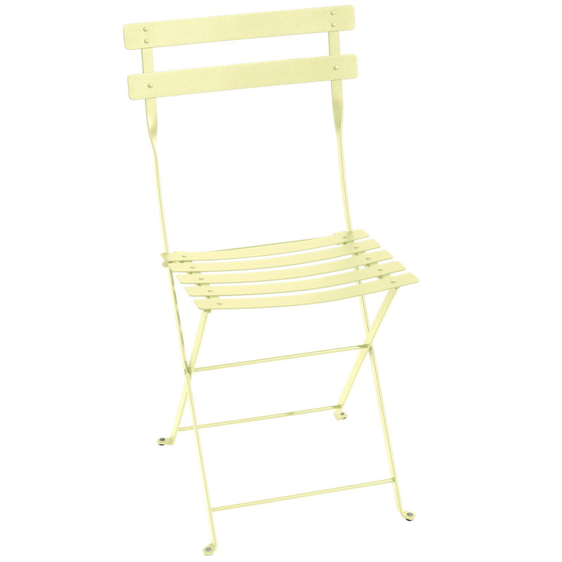 Fermob Bistro Metal chair, frosted lemon