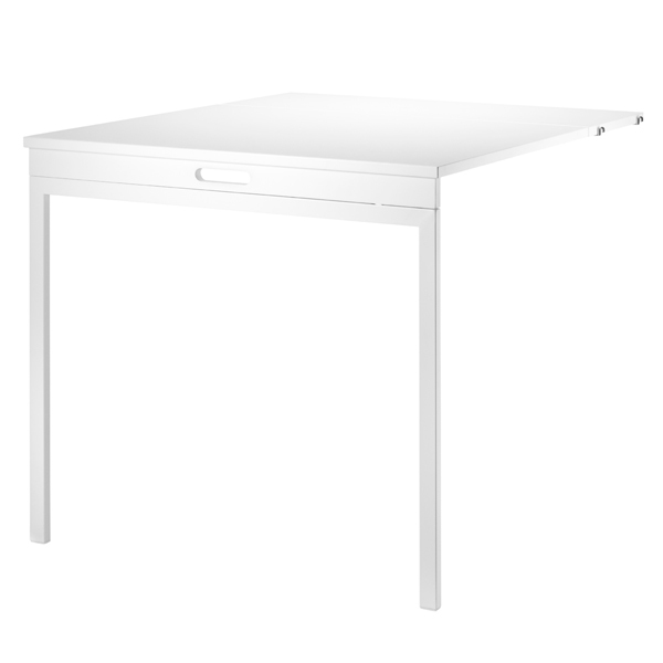 String String folding table, white