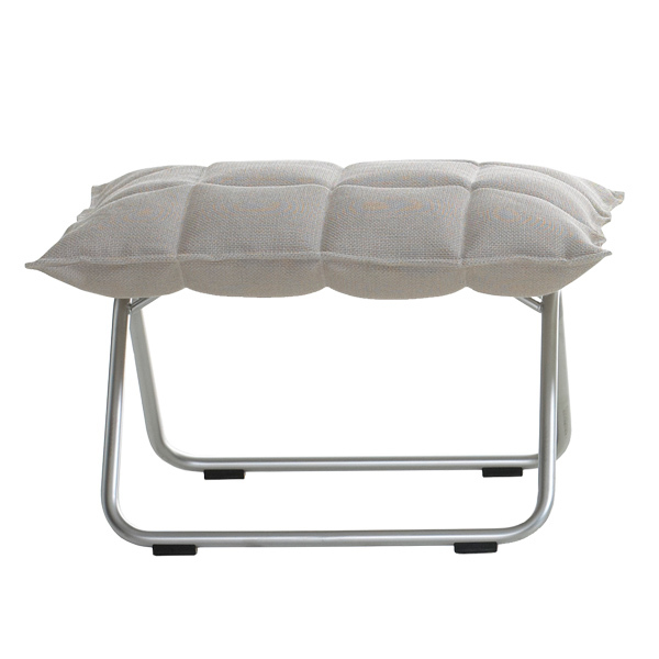 Woodnotes K ottoman, narrow, tubular