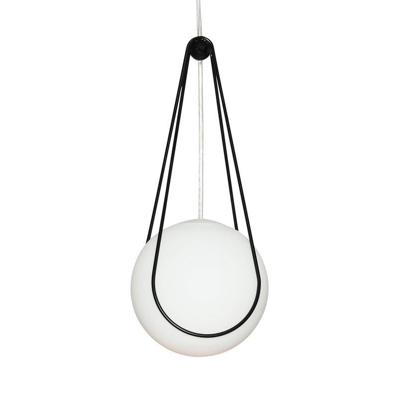 Design House Stockholm Kosmos ripustin, pieni, musta