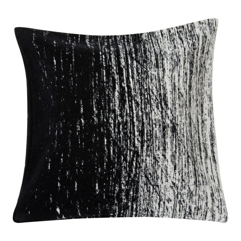 Marimekko Kuiskaus cushion cover 50 x 50 cm, black - white