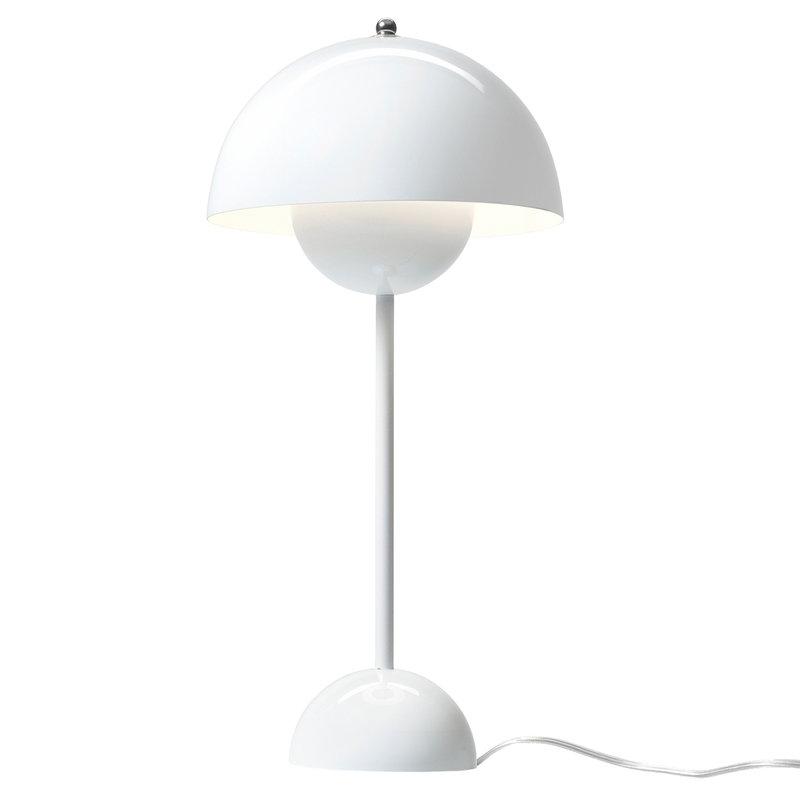&Tradition Flowerpot VP3 table lamp, white