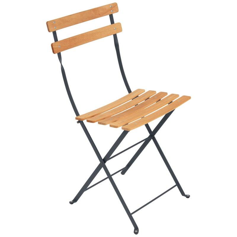 Fermob Bistro Naturel tuoli, antrasiitti