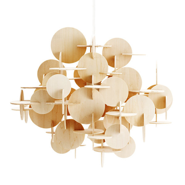 Normann Copenhagen Bau lamp large, natural