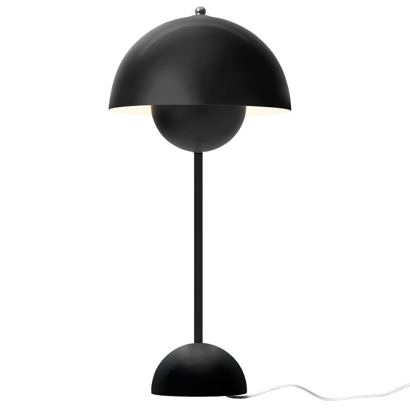 &Tradition Flowerpot VP3 table lamp, matt black
