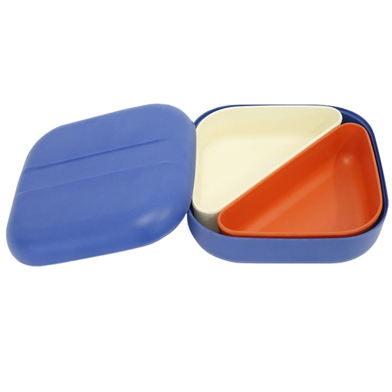 Ekobo BIOBU GO Bento lunch box, royal blue