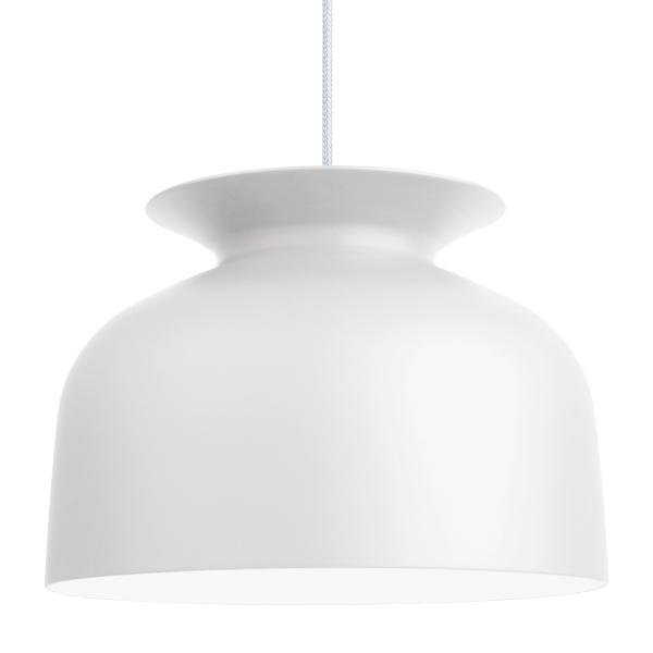 Gubi Lampada Ronde 40 cm, bianco opaco