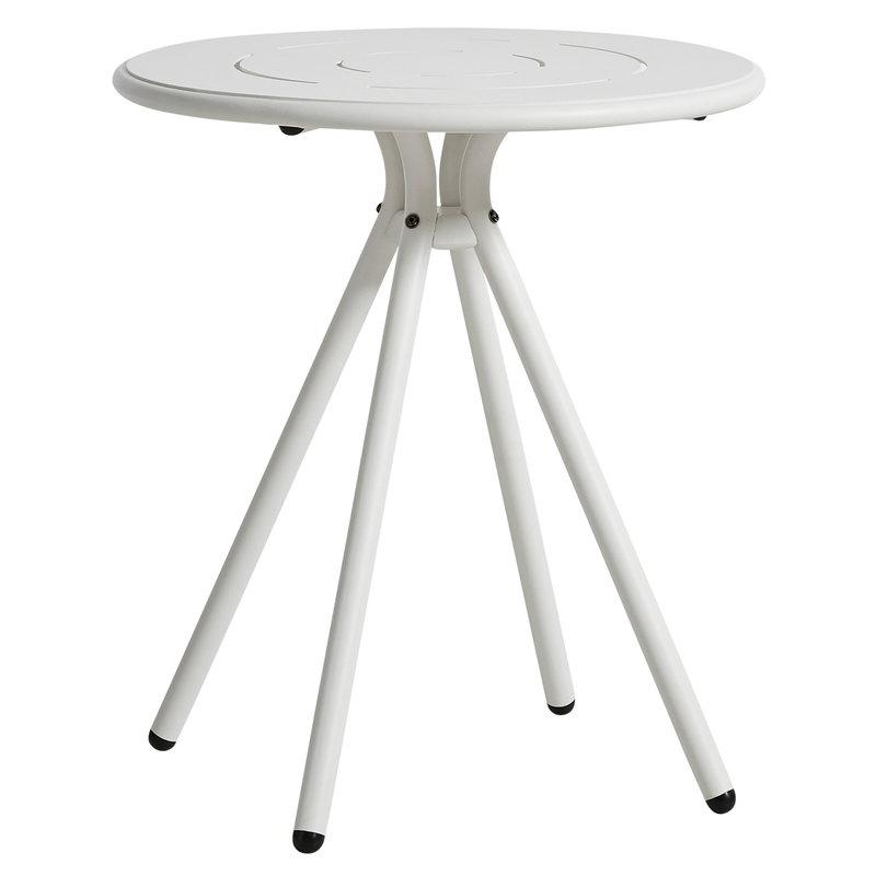 Woud Ray kahvilapöytä 65 cm, pyöreä, valkoinen