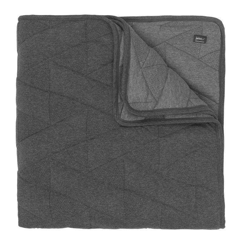 Architectmade FJ Pattern päiväpeitto, 220 x 260 cm, harmaa