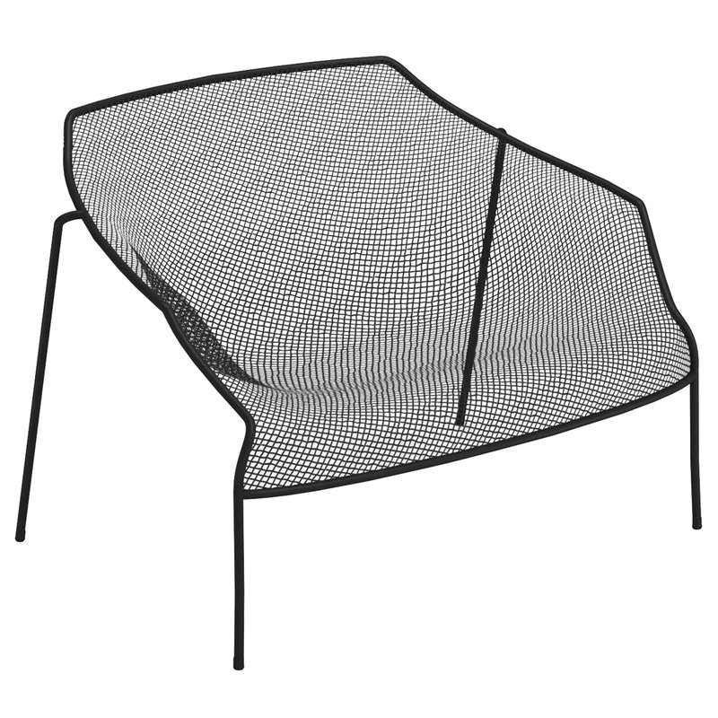 Emu Heaven lounge chair, black