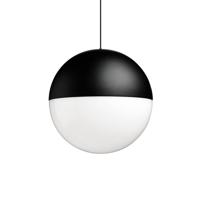 Flos String Light Sphere Head lamp, 12 m cable
