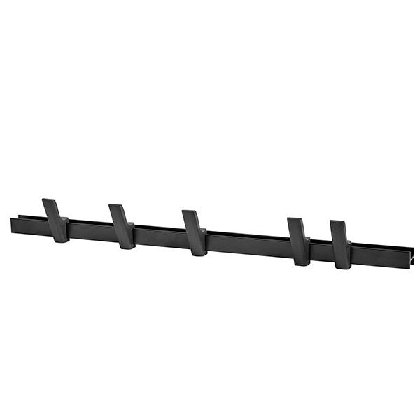 Hay Beam coat rack, charcoal, 90 cm