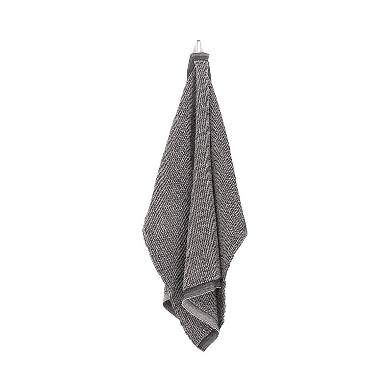 Lapuan Kankurit Terva hand towel, black-linen