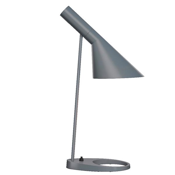 Louis Poulsen AJ table lamp, dark grey