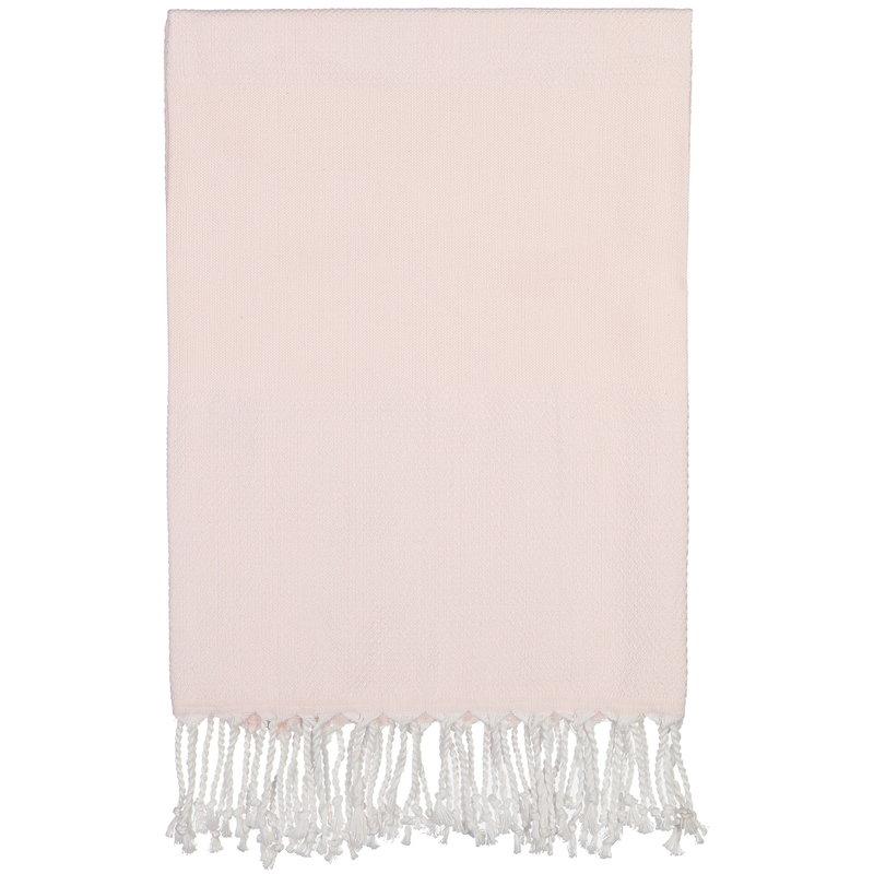 Langø Cotton towel 100 x 170 cm, rose