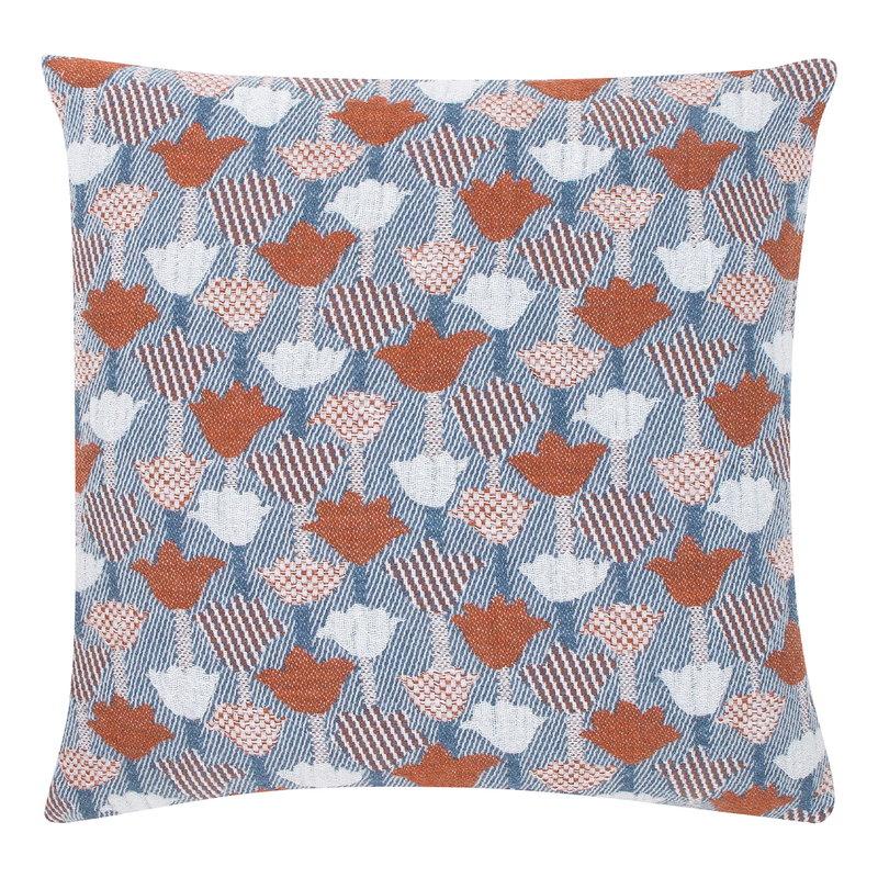 Lapuan Kankurit Tulppaani tyynynpäällinen 45 x 45 cm, kaneli - sininen
