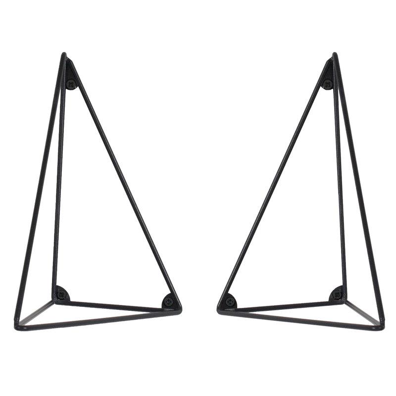 Maze Pythagoras hyllynkannattimet 2 kpl, musta