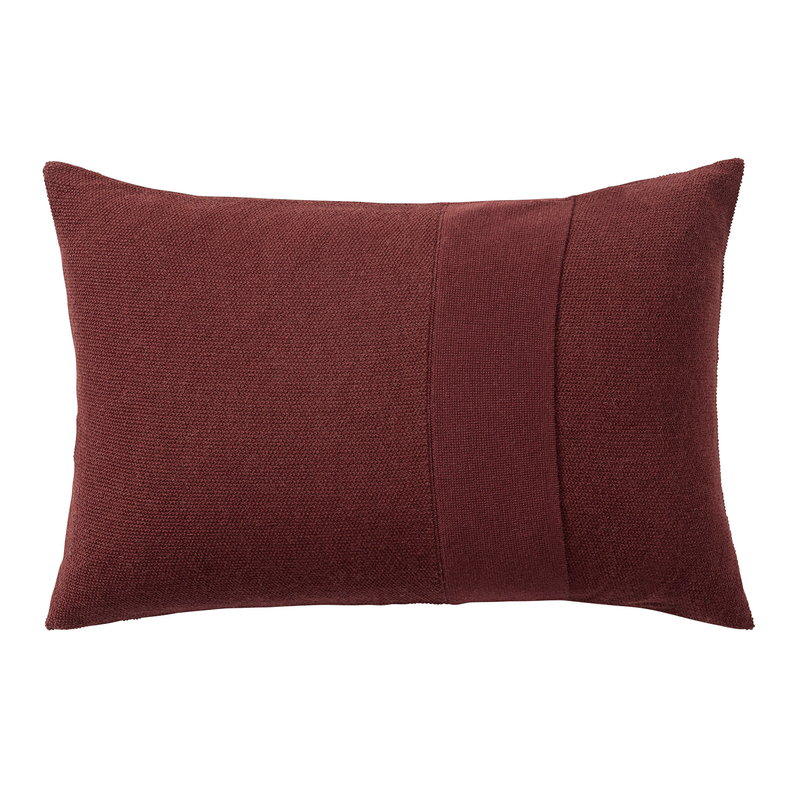 Muuto Layer cushion 40 x 60 cm, burgundy