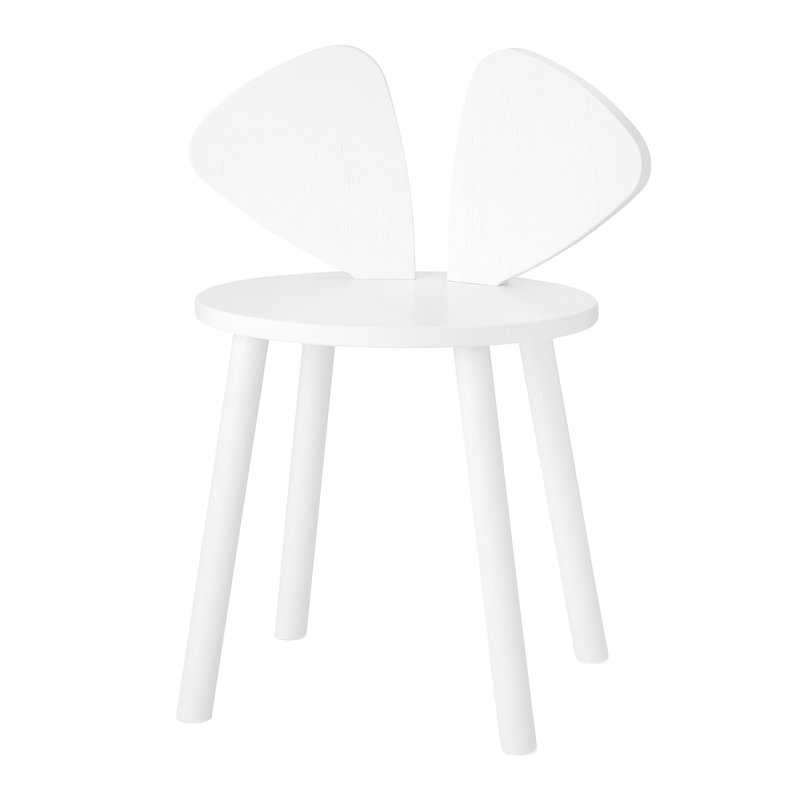 Nofred Mouse children's chair, white