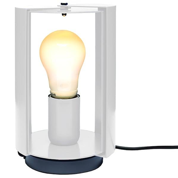 Nemo Lighting Pivotante à Poser pöytävalaisin, valkoinen