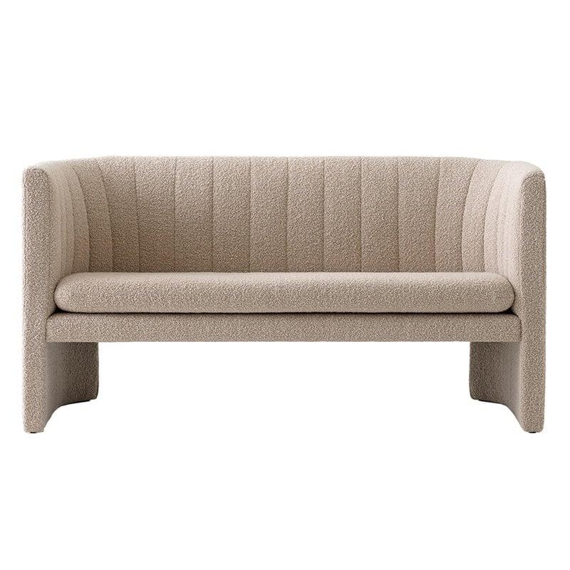 &Tradition Loafer SC25 2-istuttava sohva, Karakorum 003 Duna