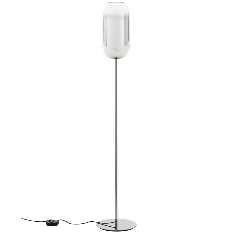 Artemide Gople floor lamp, silver