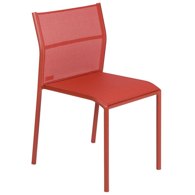 Fermob Cadiz tuoli, red ochre