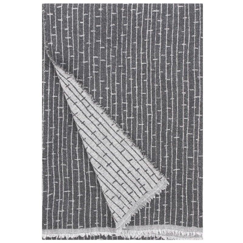 Lapuan Kankurit Metsä blanket, dark grey