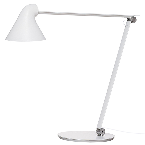 Louis Poulsen NJP table lamp, white