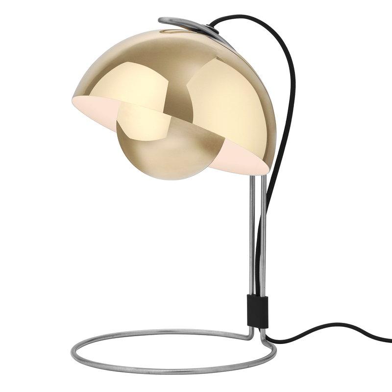 &Tradition Lampada da tavolo Flowerpot VP4, ottone lucidato