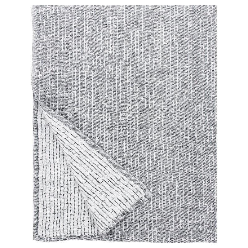 Lapuan Kankurit Metsä giant towel, white - grey