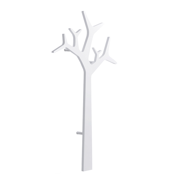 Swedese Tree wall coatrack 134 cm, white
