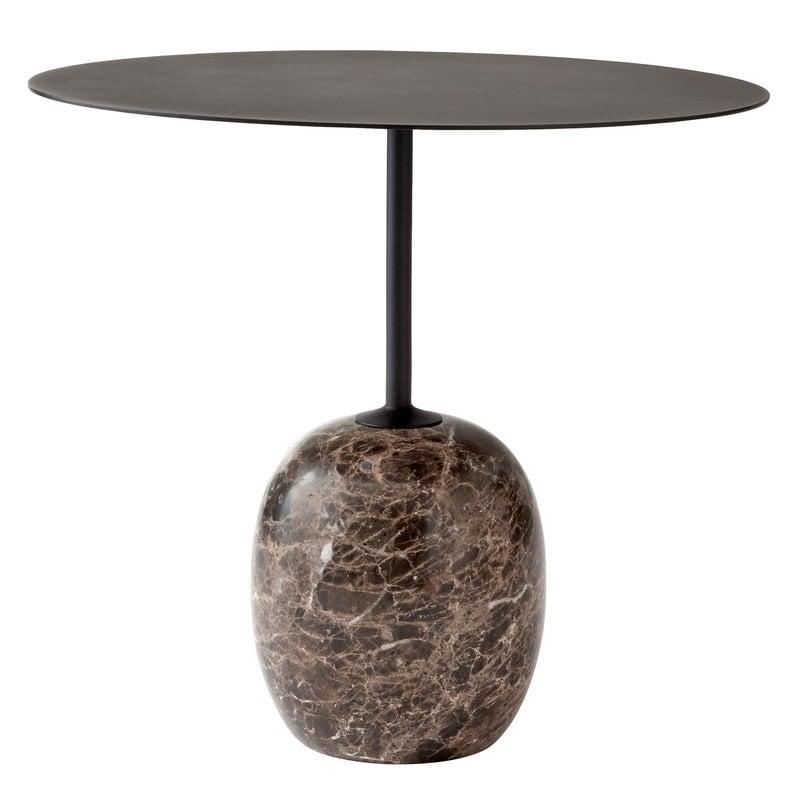 &Tradition Lato LN9 sohvapöytä, musta - Emperador marmori